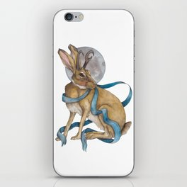 Tie Me To The Moon iPhone Skin