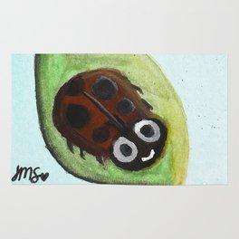Cheerful Ladybug Rug