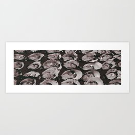Lost Time - Looking for Pearls Art Print