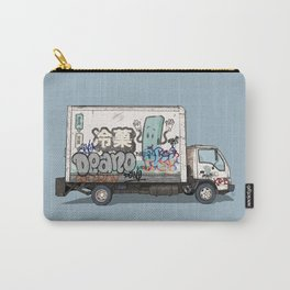 Japanese Ice Cream Truck Carry-All Pouch