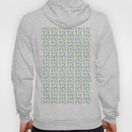 number 1- count,math,arithmetic,calculation,digit,numerical,child,school Hoody