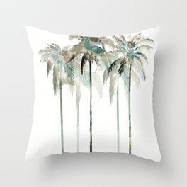 Hawaii Forest collab. with @rodrigomffonseca Throw Pillow