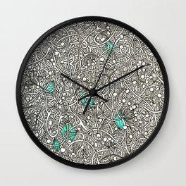 Diamonds in the Roughage Wall Clock