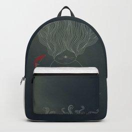 Deep Sea Koi Fish Goddess Backpack