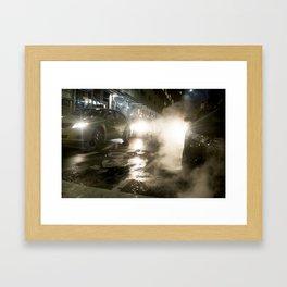 New York Steam Framed Art Print