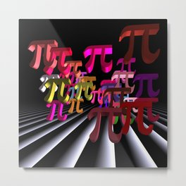 pi-day in march Metal Print