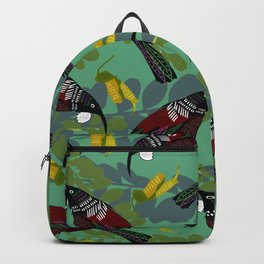Tui Pattern Backpack