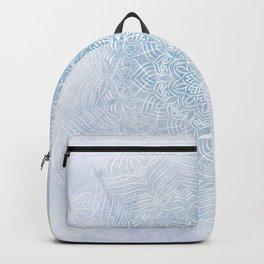 Frosty mandala Backpack