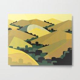 California Hills Metal Print