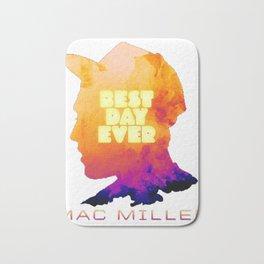 MAC MILLER---BEST DAY EVER Bath Mat