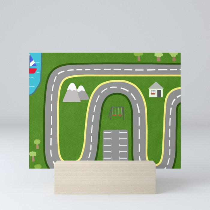 Open Road Mini Art Print