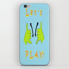 ASL Let's PLAY! iPhone Skin