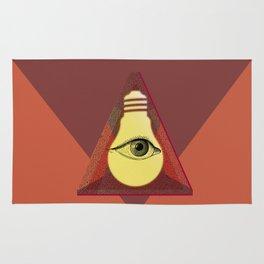 """""""Illuminati"""" bulb Rug"""