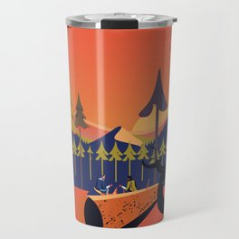 Big Red Sur Travel Mug