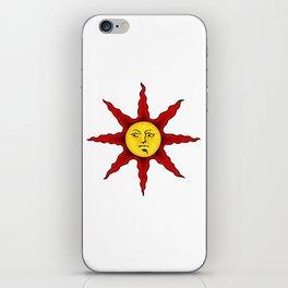 Praise the sun iPhone Skin