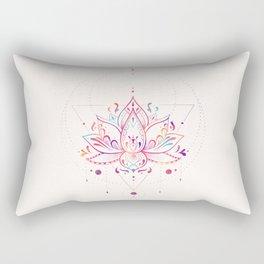 Lotus Prism Rectangular Pillow