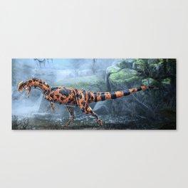 Dilophosaurus Wetherilli Restored Canvas Print