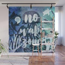 No Wake Zone Wall Mural