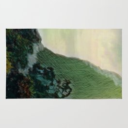 Mists In The Pitons: St. Lucia Rug