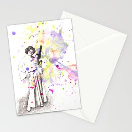Princess Leia From Star Wars Stationery Cards