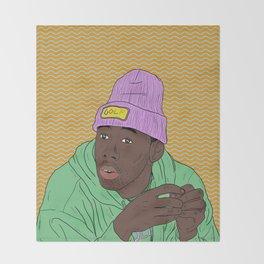 Tyler The Creator Throw Blanket