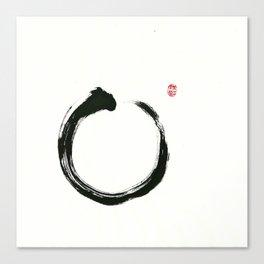 Zen Enso Canvas Print
