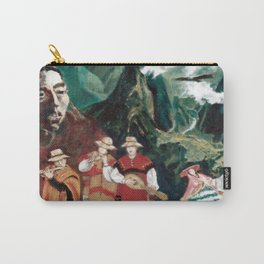 The ANDES             by Kay Lipton Carry-All Pouch
