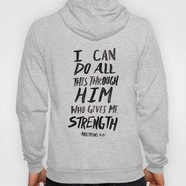 Philippians 4:13 Hoody