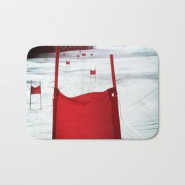 Racing Gates Bath Mat