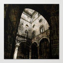 Palazzo Vecchio courtyard 2 Canvas Print