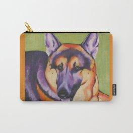 German Shepard Pop Art Pet Portrait Carry-All Pouch