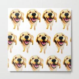 Good Boy / Yellow Labrador Retriever dog art Metal Print