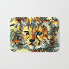 AnimalArt_Cheetah_20170602_by_JAMColorsSpecial Bath Mat