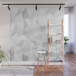Pattern - Grey / Whte Wall Mural