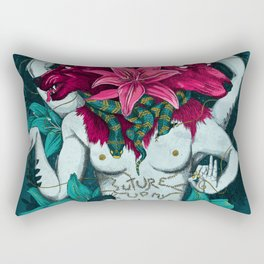 Suture up my futur Rectangular Pillow