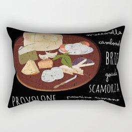 Cheese poster Rectangular Pillow