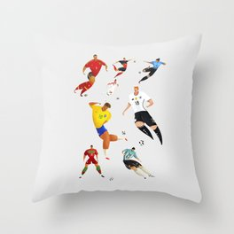 World Cup 2018 Throw Pillow
