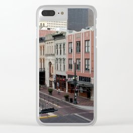 Downtown Houston Clear iPhone Case