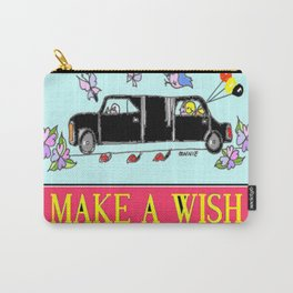 Make A Wish Carry-All Pouch