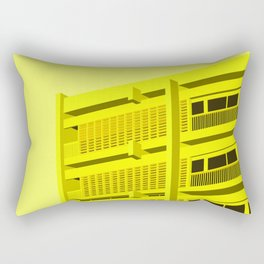 [INDEMENDENT] BUILDING A - LOUIS RIOU - HENRI TASTEMAIN Rectangular Pillow