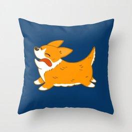 Corgi!! Throw Pillow