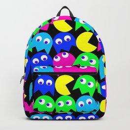 Pacman wallpaper Backpack