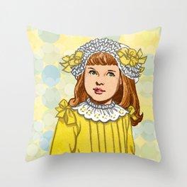 Golden Rod Throw Pillow