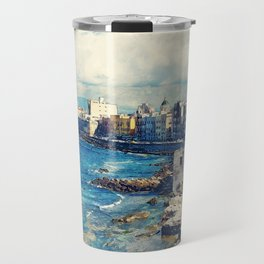 Trapani art 19 Sicily Travel Mug