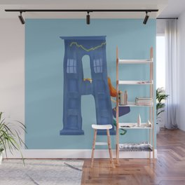 A for Amy Pond Wall Mural