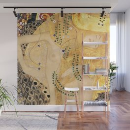 Water Serpents - Gustav Klimt Wall Mural