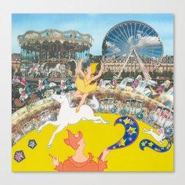 Suzette's Circus Canvas Print