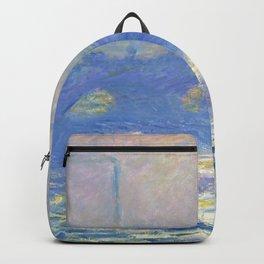 """Claude Monet """"Waterloo Bridge"""" Backpack"""