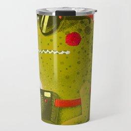 Dino touristo (olive) Travel Mug