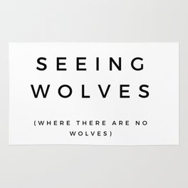 Seeing Wolves (Where There Are No Wolves) 08 Rug